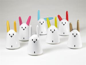 The Nabaztag, the WiFi rabbit by Violet